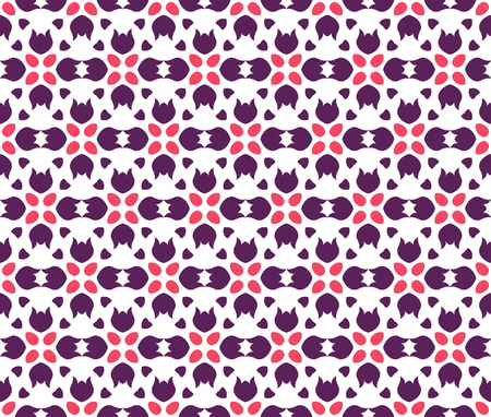 Abstract seamless ornament pattern. Vector illustration. 向量圖像