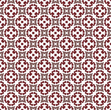 Fondo geometrico senza cuciture astratto con linee, modelli di ornamenti orientali Vettoriali