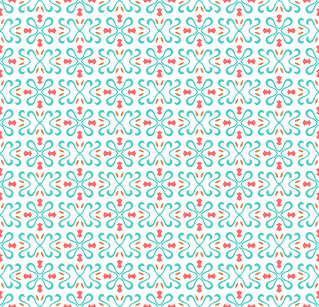 Abstract seamless geometric pattern background with lines, oriental ornaments patterns Illustration