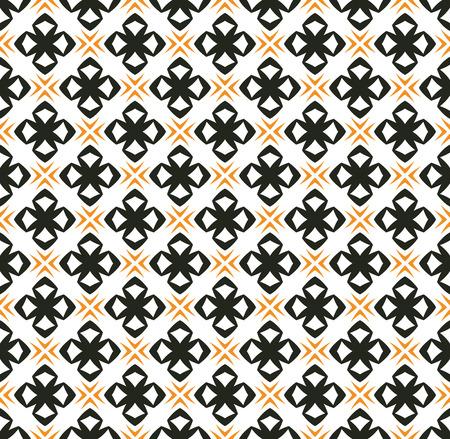 ornamento simple patrón de fondo sin fisuras Ilustración de vector
