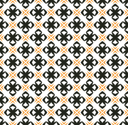 simple ornament seamless pattern background Vector Illustratie