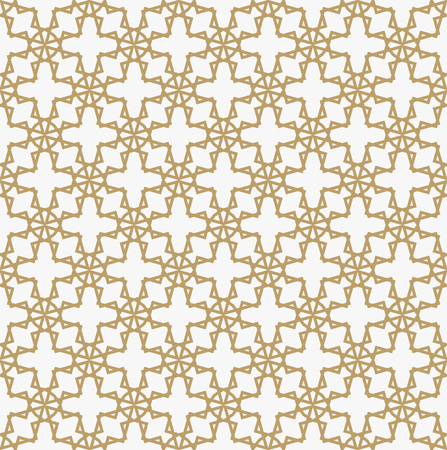 Abstract geometric decoration pattern with lines. A seamless vector background. Graphic modern pattern.