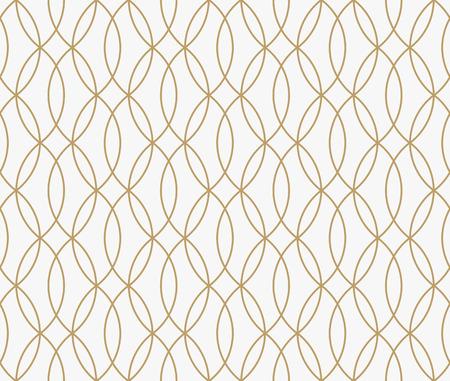 geometric line ornament seamless pattern, modern minimalist style pattern background