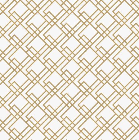 Geometric seamless pattern with line, modern minimalist style pattern background Ilustrace