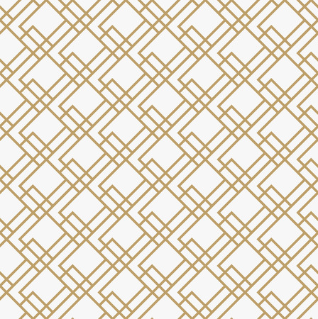 Geometric seamless pattern with line, modern minimalist style pattern background Illustration