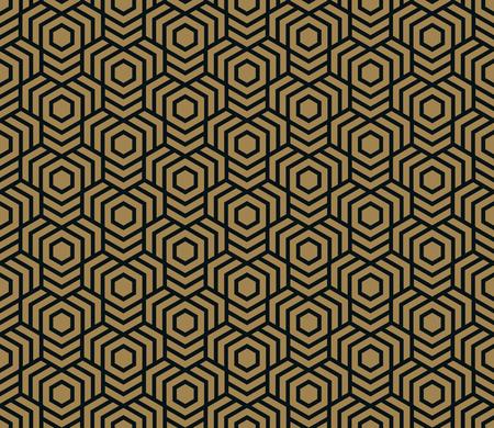 Nahtloses Muster. Elegante lineare Verzierung. Geometrischer stilvoller Hintergrund. Vektor, der Textur wiederholt