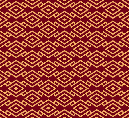 Vector seamless pattern. Modern stylish texture. Geometric striped ornament. luxury linear pattern Ilustrace