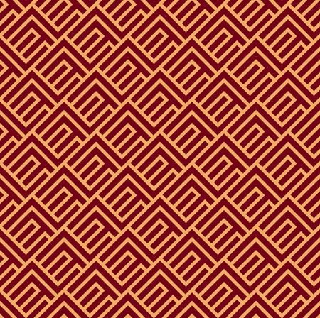 Vector seamless pattern. Modern stylish texture. Geometric striped ornament. luxury linear pattern Reklamní fotografie - 101763115