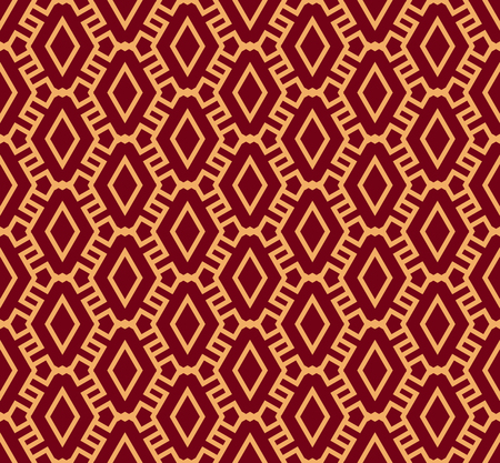 Vector seamless pattern. Modern stylish texture. Geometric striped ornament. luxury linear pattern Ilustrace