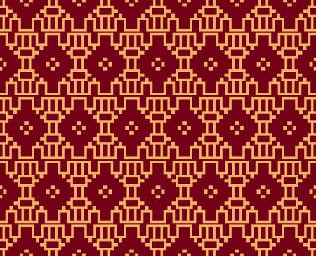 Vector seamless pattern. Modern stylish texture. Geometric striped ornament. luxury linear pattern Reklamní fotografie - 101807203
