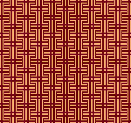Vector seamless pattern. Modern stylish texture. Geometric striped ornament. luxury linear pattern Stock Illustratie