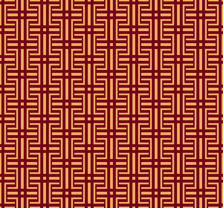 Vector seamless pattern. Modern stylish texture. Geometric striped ornament. luxury linear pattern 일러스트