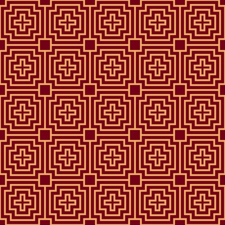 Vector seamless pattern. Modern stylish texture. Geometric striped ornament. luxury linear pattern Reklamní fotografie - 101807087