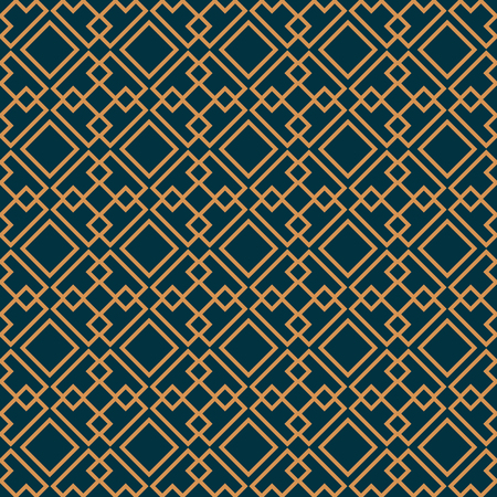 Vector seamless pattern. Modern stylish texture. Geometric striped ornament. luxury linear pattern  イラスト・ベクター素材