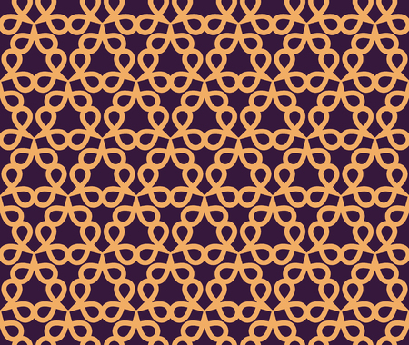 Vector seamless pattern. Modern stylish abstract texture. Repeating geometric linear tiles pattern background