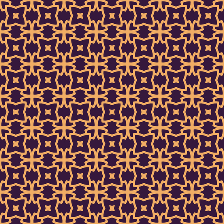 Vector seamless pattern. Modern stylish abstract texture. Repeating geometric linear tiles pattern background 写真素材 - 101987023