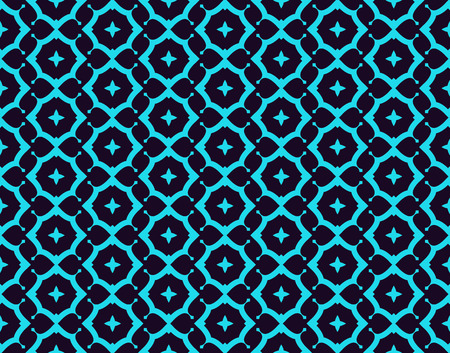 Seamless pattern. Ornament of lines and curls. Linear abstract background. Banque d'images - 101987230