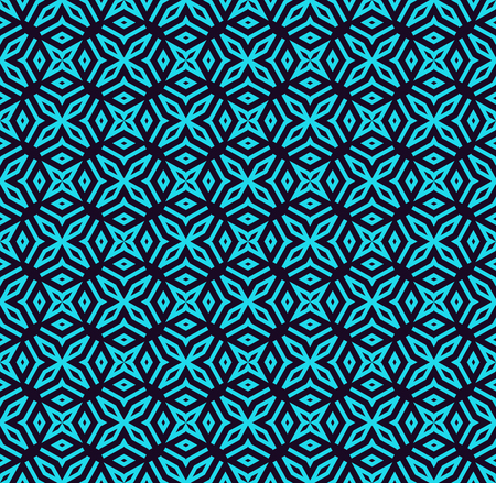 Seamless pattern. Ornament of lines and curls. Linear abstract background. Banque d'images - 101987299