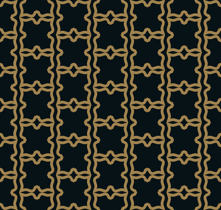Seamless pattern. Graphic lines ornament. Floral stylish background. Foto de archivo - 102519469