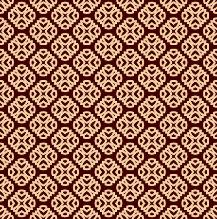 Seamless linear pattern with elegant curved lines and scrolls ornamental wallpaper. 写真素材 - 103186131