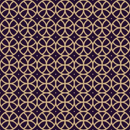 Vector seamless pattern. Modern stylish texture. Geometric linear ornament. Banco de Imagens - 102349423