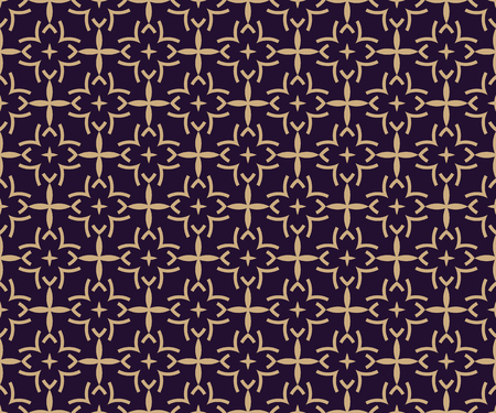Vector seamless pattern. Modern stylish texture. Geometric linear ornament. Illusztráció
