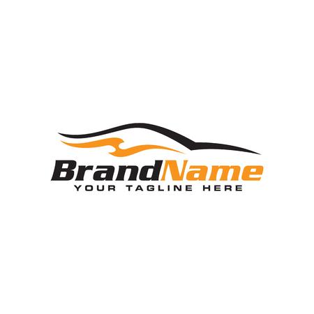 Création de logo de voiture automobile. Illustration vectorielle de voiture Logo. Logo