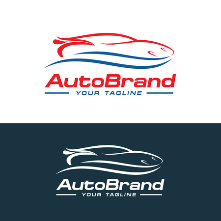 Car logo vector, auto company logo vector template design 写真素材 - 105107814