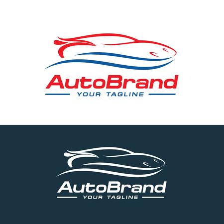 Car logo vector, auto company logo vector template design Illustration