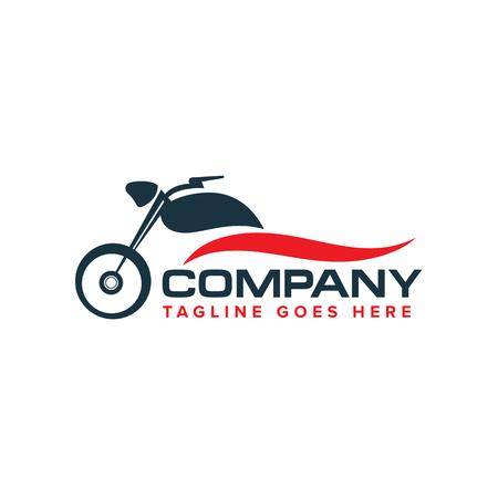 vettore di progettazione di logo di auto moto