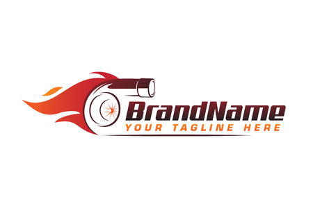 turbo fire performance auto logo. automotive logo design vector 일러스트