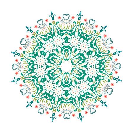 Mandala, Vector Mandala, floral mandala, flower mandala, oriental mandala, coloring mandala. Oriental pattern, vector illustration. Islam, Arabic, Indian, turkish, pakistan, chinese, ottoman motifs Çizim