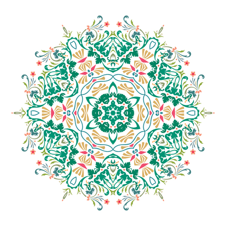 Mandala, Vector Mandala, floral mandala, flower mandala, oriental mandala, coloring mandala. Oriental pattern, vector illustration. Islam, Arabic, Indian, turkish, pakistan, chinese, ottoman motifs Illustration