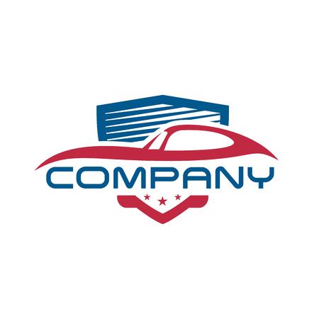 Diseños de plantillas de logotipo de escudo de coche