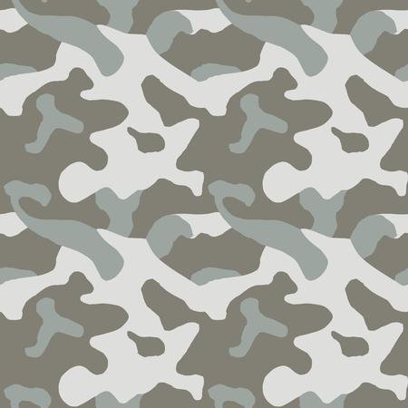 Motif de camouflage. Sans couture. Contexte militaire. Camouflage de soldat. Modèle sans couture abstrait pour l'armée, la marine, la chasse, le textile en tissu de mode Style de soldat moderne et coloré. Texture facrique de vecteur.