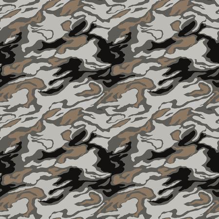 Motif de camouflage. Sans couture. Contexte militaire. Camouflage de soldat. Modèle sans couture abstraite pour l'armée, la marine, la chasse, le textile en tissu de mode. Style de soldat moderne et coloré. Texture facrique de vecteur.