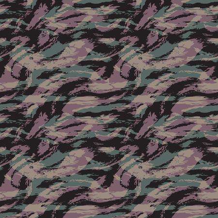 Patrón de camuflaje. Sin costura. Antecedentes militares. Camuflaje de soldado. Resumen de patrones sin fisuras para el ejército, la marina, la caza, la moda textil. Estilo de soldado moderno colorido. Textura de vector facric. Ilustración de vector