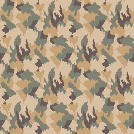 Camouflage pattern. Seamless. Military background. Soldier camouflage. Abstract seamless pattern for army, navy, hunting, fashion cloth textile. Colorful modern soldier style. Vector facric texture. Stockfoto - 109879479