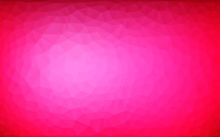 vector abstract irregular polygonal background - triangle low poly pattern - claret burgundy maroon magenta rasberry red pink color Illusztráció