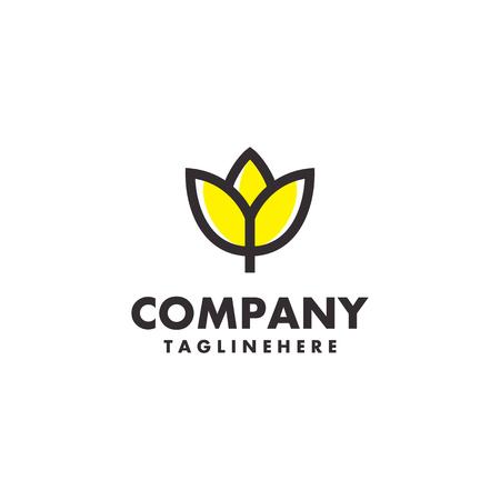 Flower lilly Logo