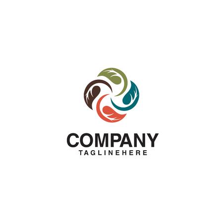vector logo de hoja