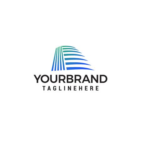 Architekten-Konstruktionsidee - Vektorlogo Logo