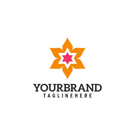 Flower Logo Vector Illustration