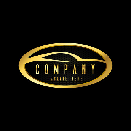 modern car emblems, badges logo design template for car service, tire service, wash and detailing.