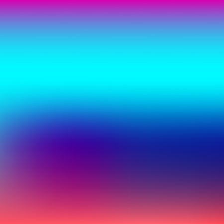Colorful abstract light neon blurred gradients, retro 80s futuristic background Ilustração