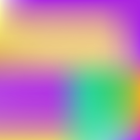 Abstract blur gradient background with trend pastel pink, purple, violet, yellow and blue colors for deign concepts, wallpapers, web, presentations and prints. Vector illustration. Stock Vector - 109793271
