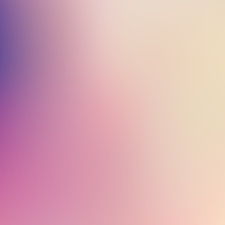 Abstract blur gradient background with trend pastel pink, purple, violet, yellow and blue colors for deign concepts, wallpapers, web, presentations and prints. Vector illustration. Stock Illustratie