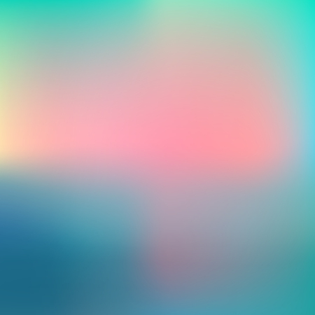 Abstract blur gradient background with trend pastel pink, purple, violet, yellow and blue colors for deign concepts, wallpapers, web, presentations and prints. Vector illustration. Illustration