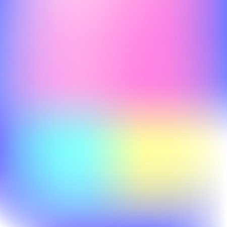 Abstract blur gradient background with trend pastel pink, purple, violet, yellow and blue colors for deign concepts, wallpapers, web, presentations and prints. Vector illustration. Stock Vector - 109793280