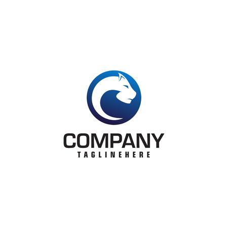 panther logo design concept